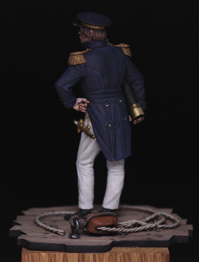 Figures:  Capitaine de corvette, France 1845, photo #5