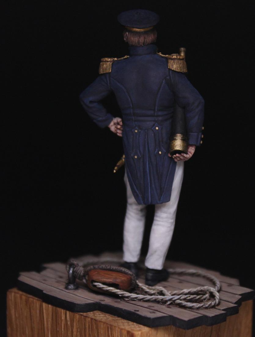 Figures:  Capitaine de corvette, France 1845, photo #6