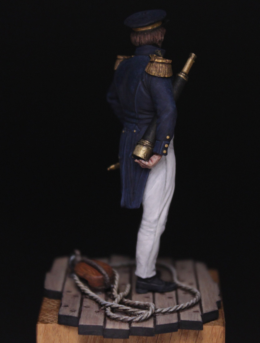 Figures:  Capitaine de corvette, France 1845, photo #7