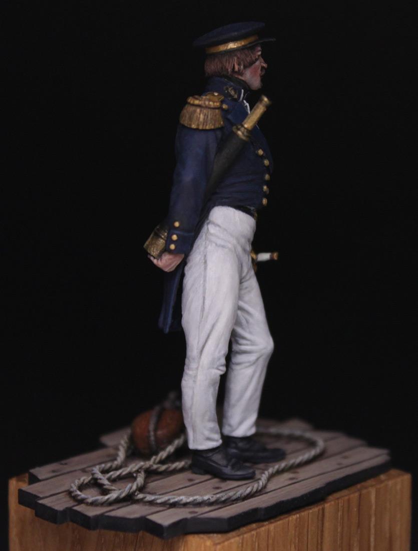 Figures:  Capitaine de corvette, France 1845, photo #8