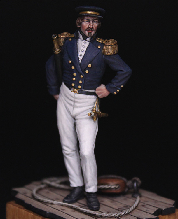 Figures:  Capitaine de corvette, France 1845
