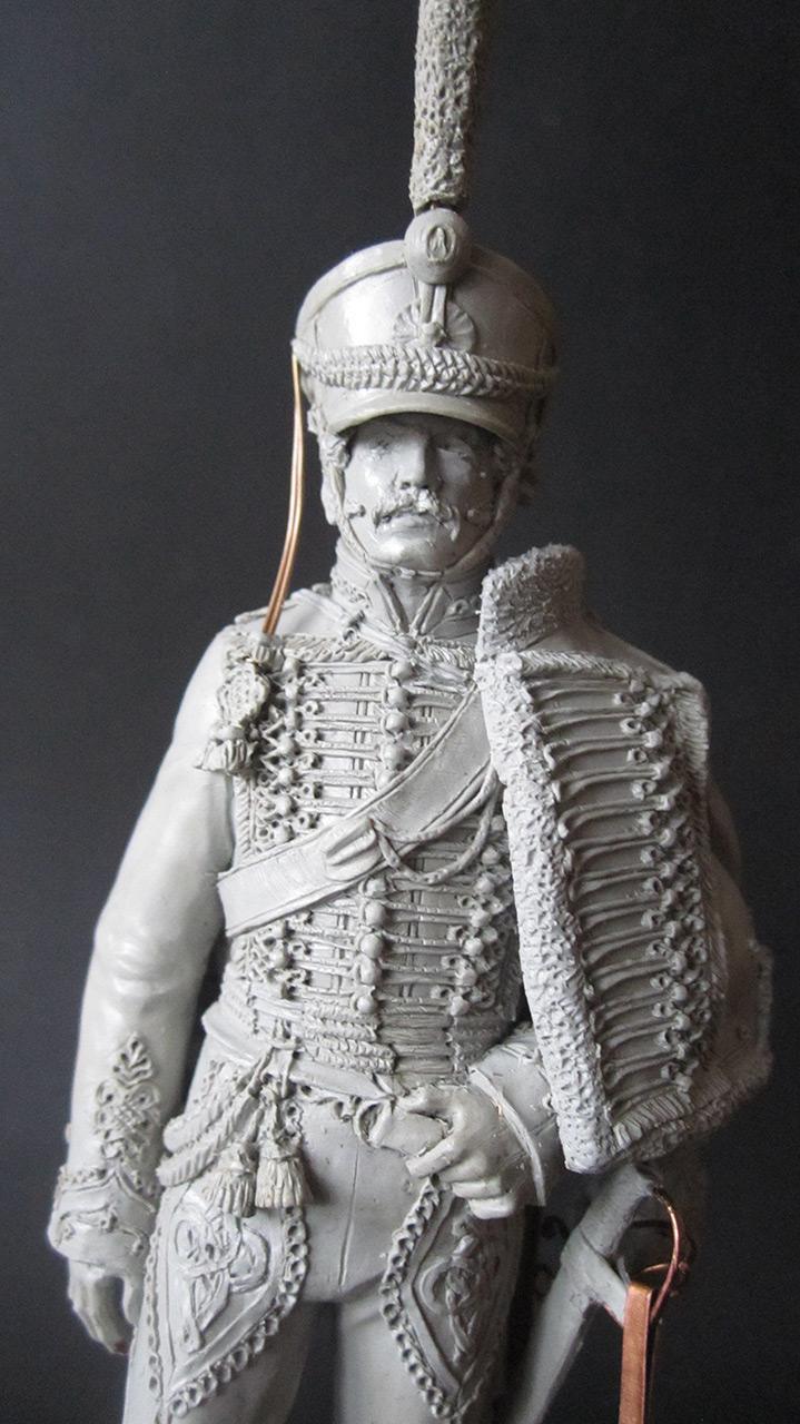 Sculpture: Hussar officer, 1813-14, photo #2