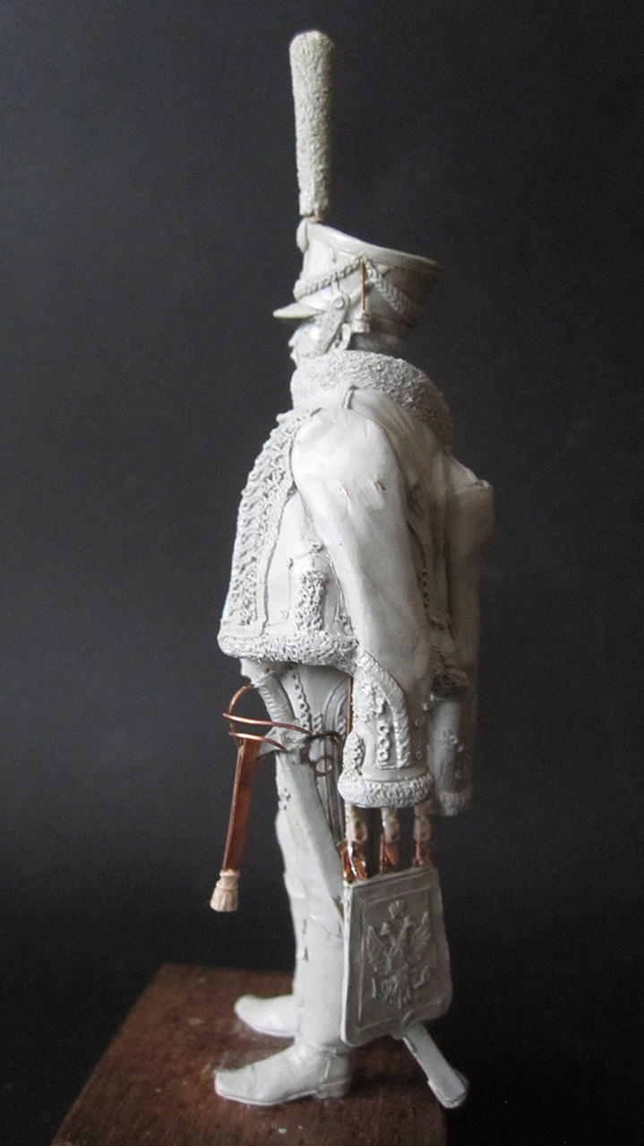 Sculpture: Hussar officer, 1813-14, photo #3