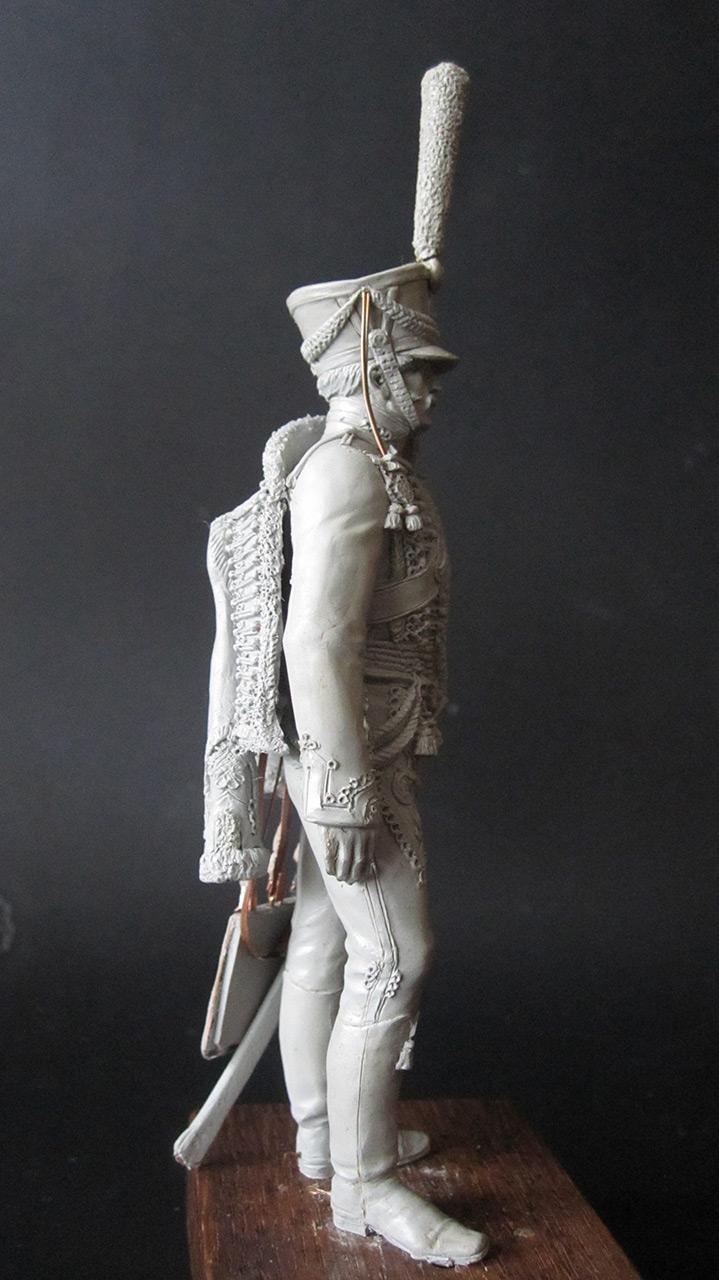 Sculpture: Hussar officer, 1813-14, photo #4