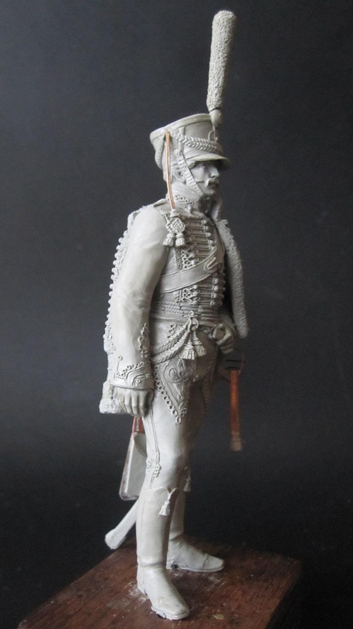 Sculpture: Hussar officer, 1813-14, photo #5