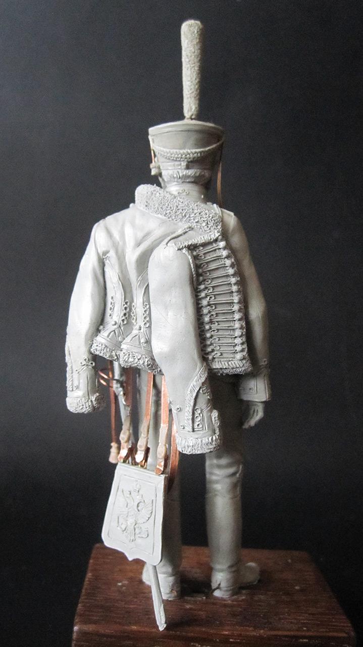 Sculpture: Hussar officer, 1813-14, photo #7