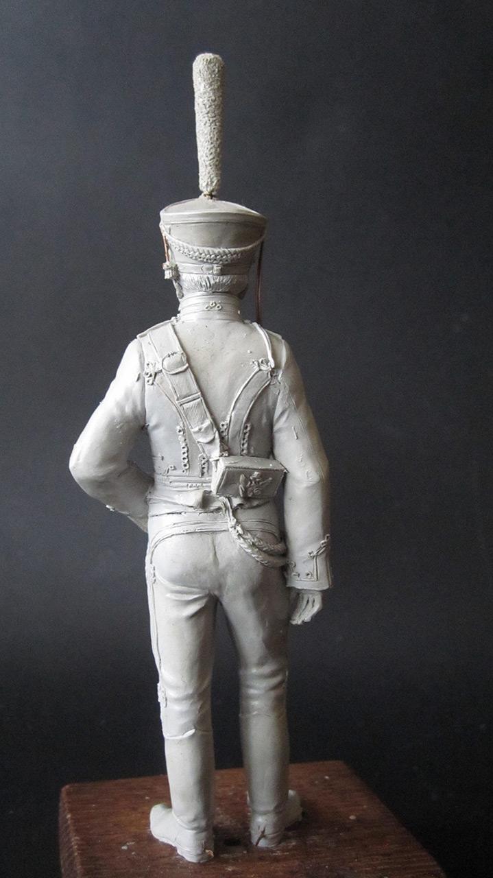 Sculpture: Hussar officer, 1813-14, photo #8