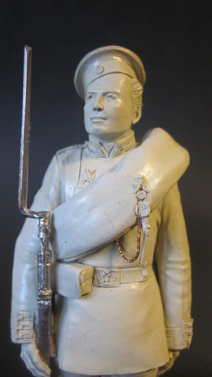 Sculpture: Russian Guard soldier, 1884, photo #2