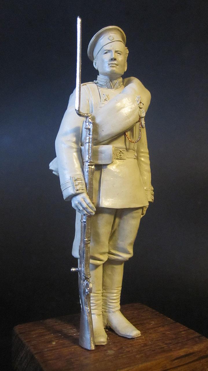 Sculpture: Russian Guard soldier, 1884, photo #3