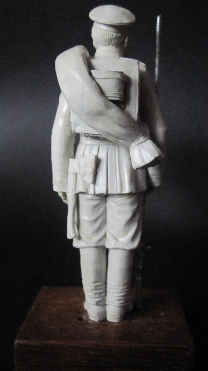 Sculpture: Russian Guard soldier, 1884, photo #4