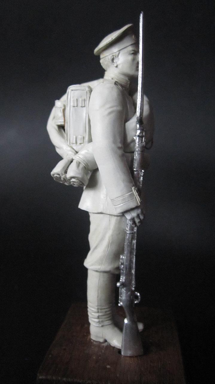 Sculpture: Russian Guard soldier, 1884, photo #5
