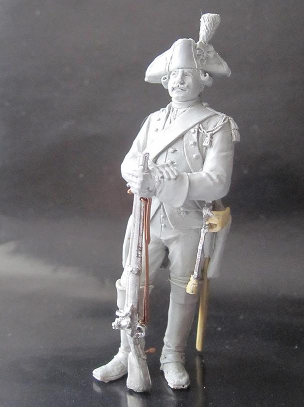 Sculpture: Carabineer, 1774