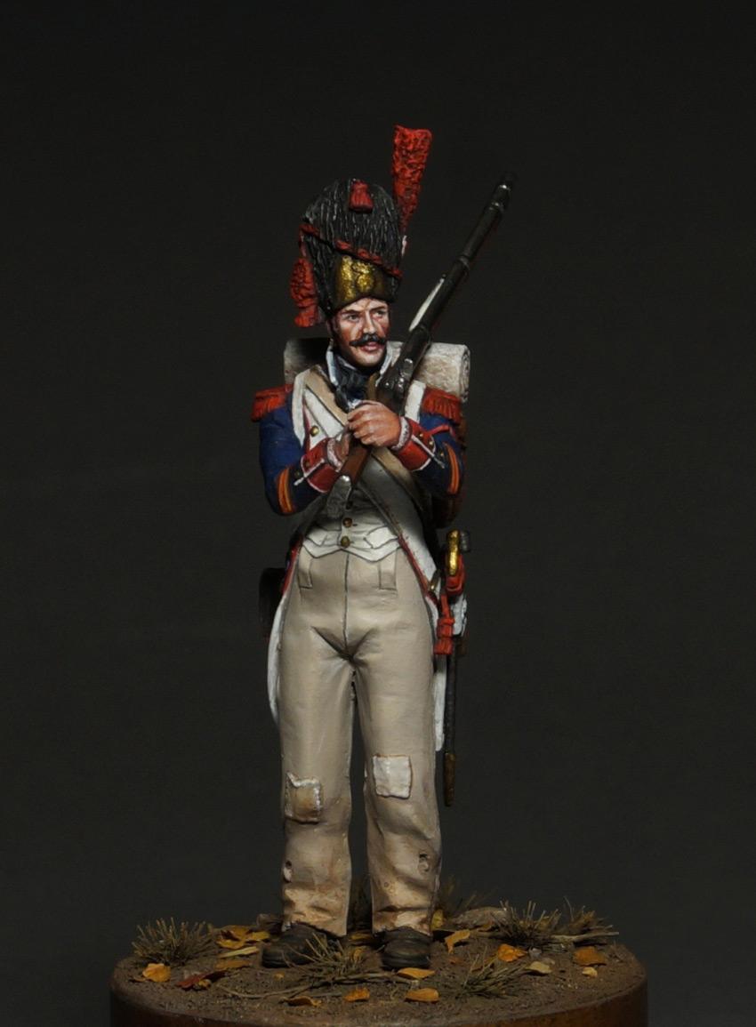 Figures: Corporal, line infantry grenadiers, 1809, photo #2