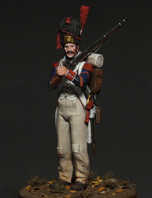 Figures: Corporal, line infantry grenadiers, 1809