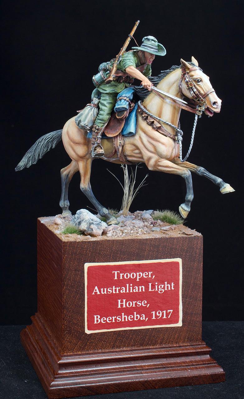 Figures: Australian light cavalry, WWI, photo #5
