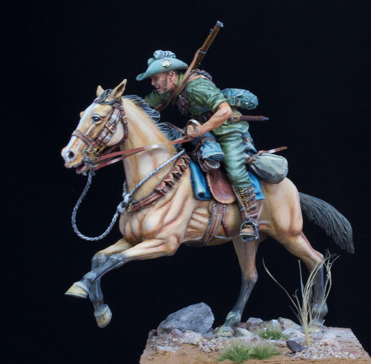 Figures: Australian light cavalry, WWI, photo #6