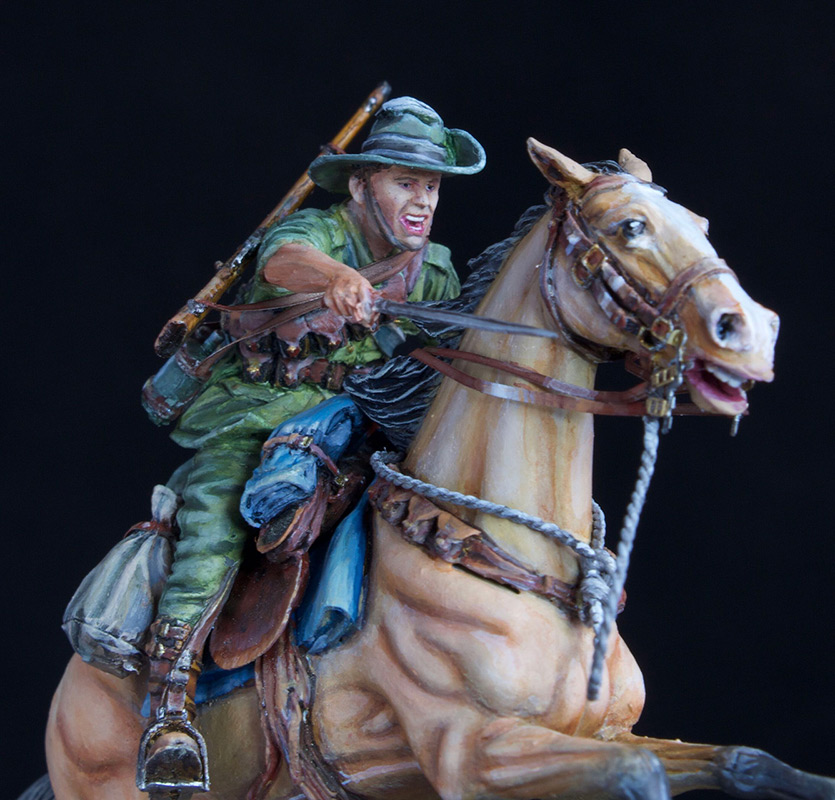 Figures: Australian light cavalry, WWI, photo #8