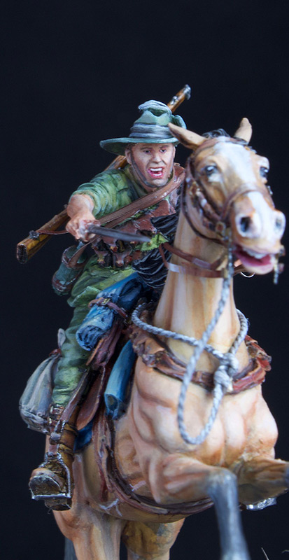 Figures: Australian light cavalry, WWI, photo #9