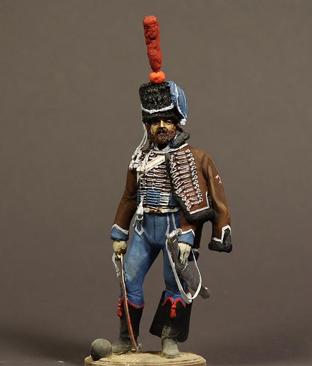 Figures: Sapper, 2nd Hussars, France 1810