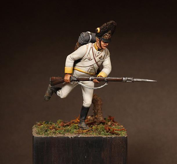 Figures: Grenadier, «Marquis de Chasteler» regt.