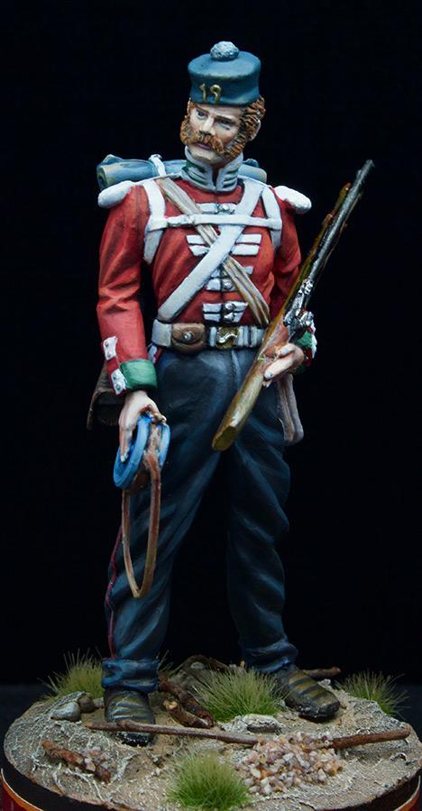 Figures: Infantryman, 19th inf. regt., photo #2