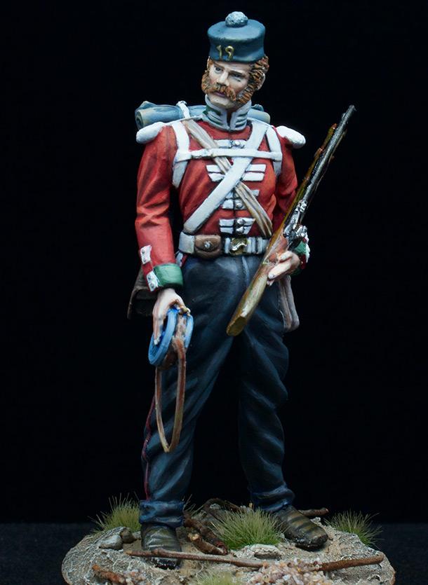 Figures: Infantryman, 19th inf. regt.