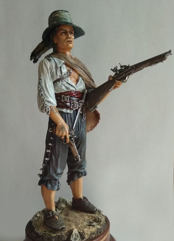 Sculpture: The Pirate