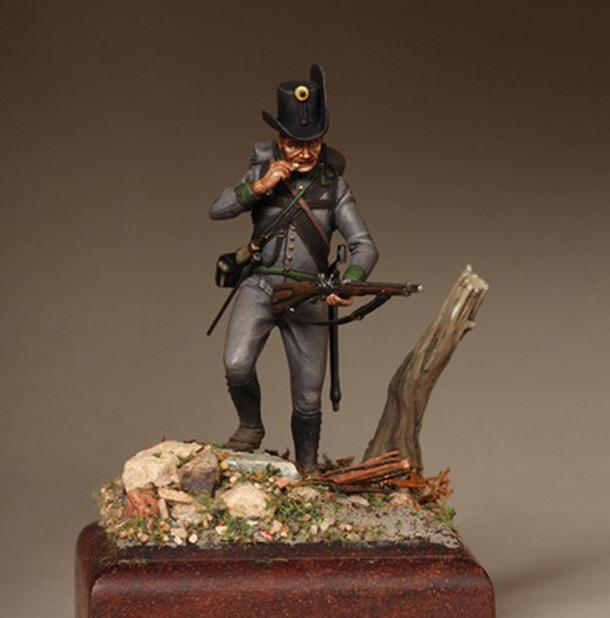Figures: Private, Jaeger battalion, Austria 1809-14