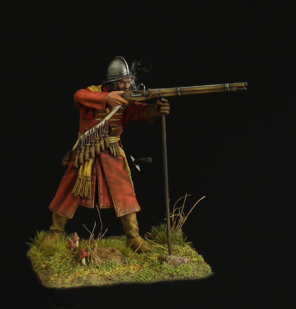 Figures: Musketeer of a new-type regiment, 17th, photo #1