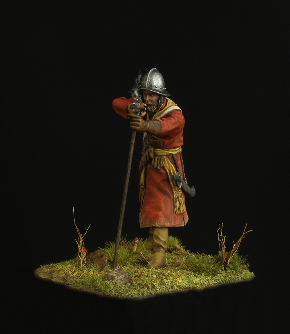 Figures: Musketeer of a new-type regiment, 17th, photo #2