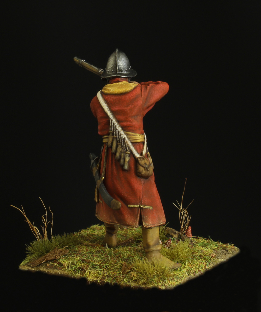 Figures: Musketeer of a new-type regiment, 17th, photo #4