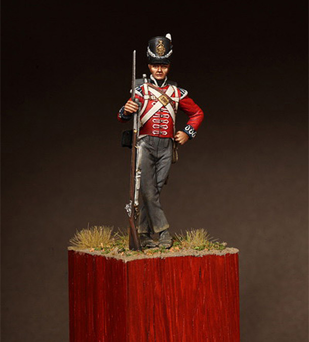 Figures: Private, 1st regt. of Foot Guards, 1810-15