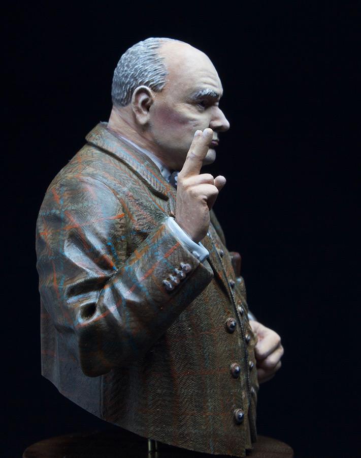 Figures: Sir Winston Churchill, photo #2