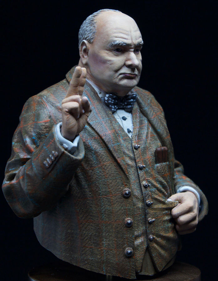 Figures: Sir Winston Churchill, photo #3