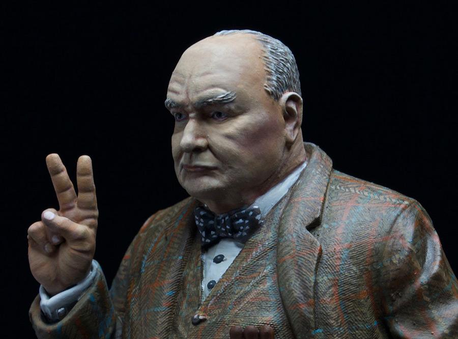 Figures: Sir Winston Churchill, photo #4