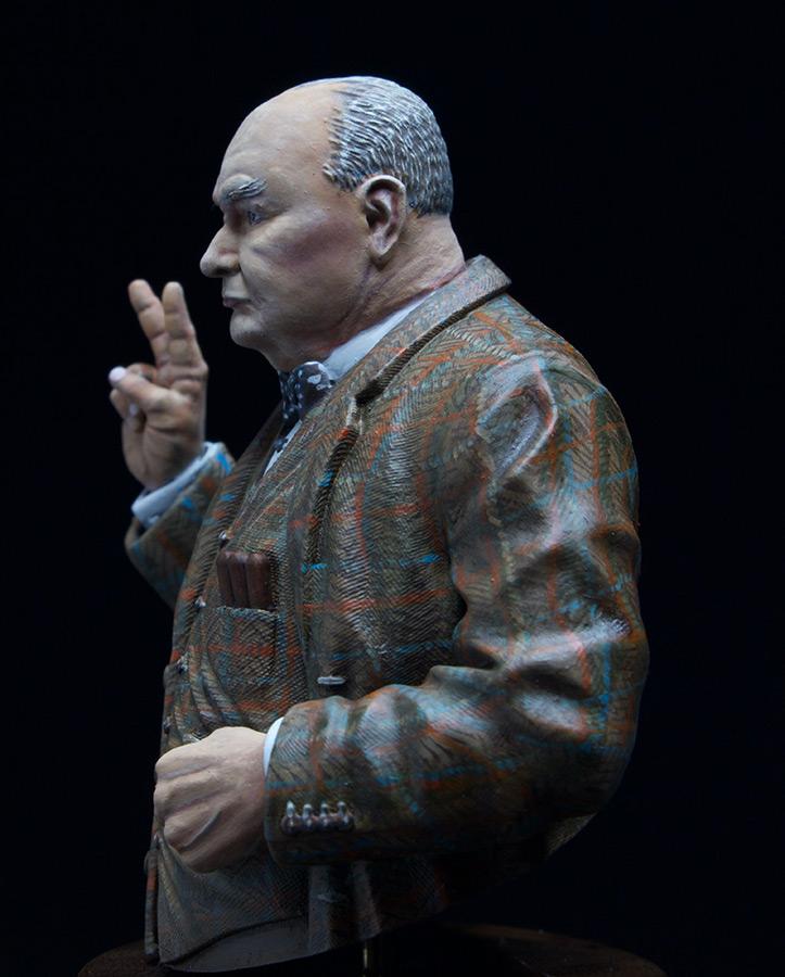 Figures: Sir Winston Churchill, photo #5