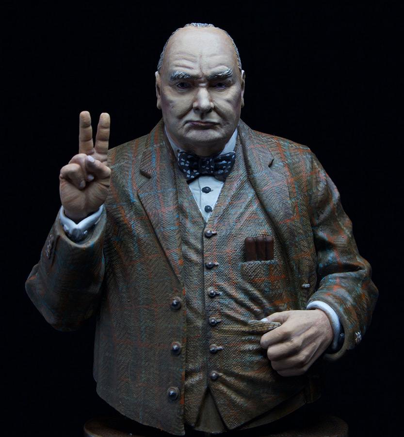 Figures: Sir Winston Churchill, photo #7
