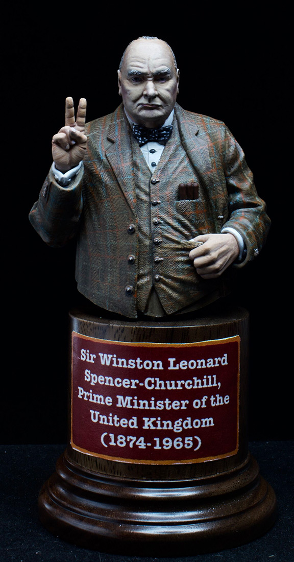 Figures: Sir Winston Churchill, photo #8