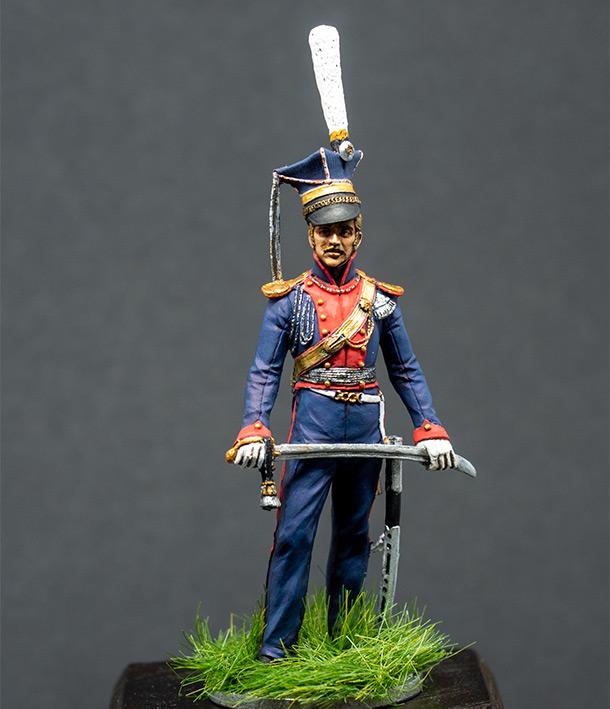 Figures: Chief officer, Vladimir lancers, 1813