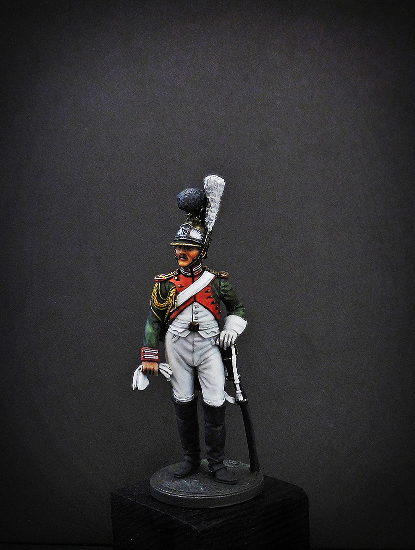 Figures: Private, Royal Guard, Italy 1811-12, photo #2