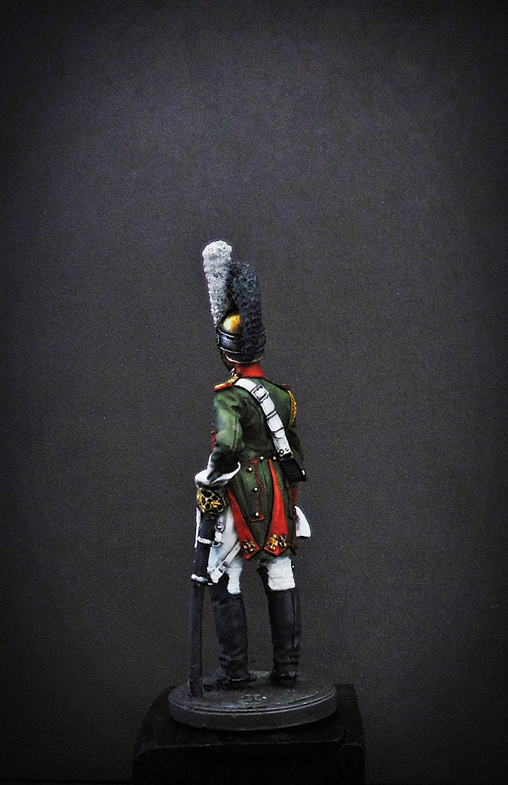 Figures: Private, Royal Guard, Italy 1811-12, photo #6