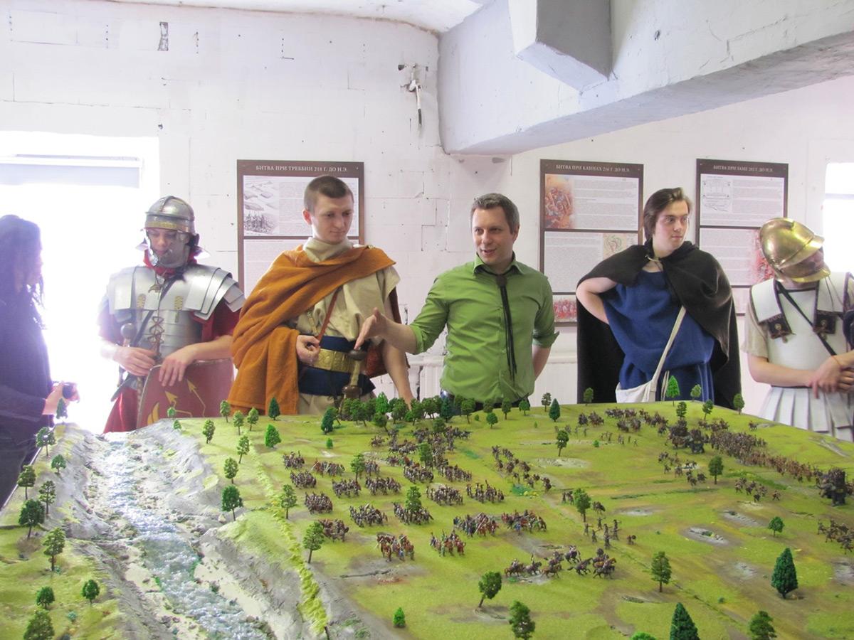 Dioramas and Vignettes: Battle of Trebbia, photo #1