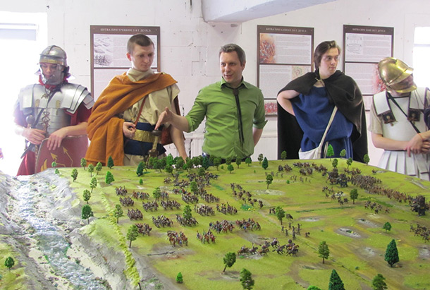 Dioramas and Vignettes: Battle of Trebbia