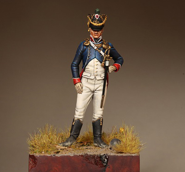 Figures: Tirailleur - chasseur, Young Guards, France 1812