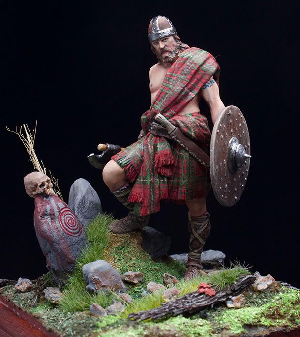 Figures: Highlander, 12-13th A.D.
