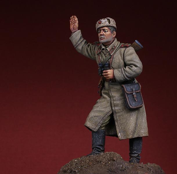 Figures: Gun crew commander. 1943-45