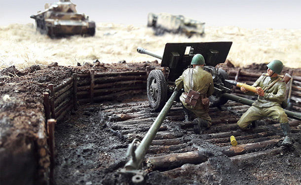Dioramas and Vignettes: First fight of lieutenant Slepov