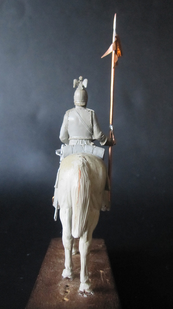 Sculpture: Cuirassier, 1870, photo #2