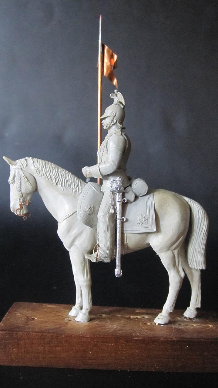 Sculpture: Cuirassier, 1870, photo #4