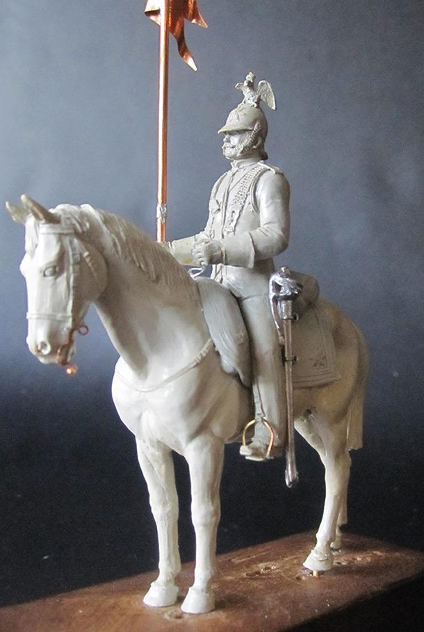 Sculpture: Cuirassier, 1870